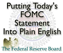 FOMC Federal Open Market Commitee
