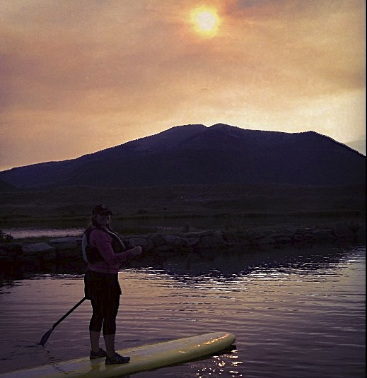 SUP Stand Up Paddleboarding Slate River Crested Butte
