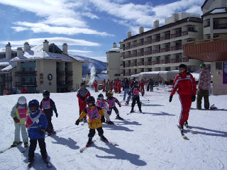 crested butte real estate ski school kids