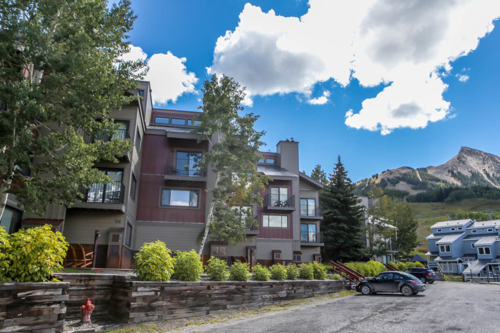 Buttes condos ski in ski out Mt. Crested Butte