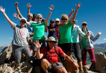 living journeys summit hike to crested butte mountain